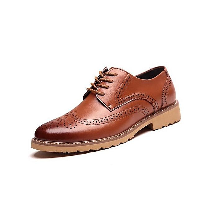 Générique   Générique 's Business Casual Leather Shoes à prix pas cher  | Jumia Maroc 057439
