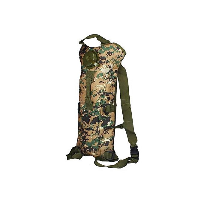 Generic Xiuxingzi_Hydration Water sac sac à dos Bladder Climbing Survival 3L Jungle Digital à prix pas cher