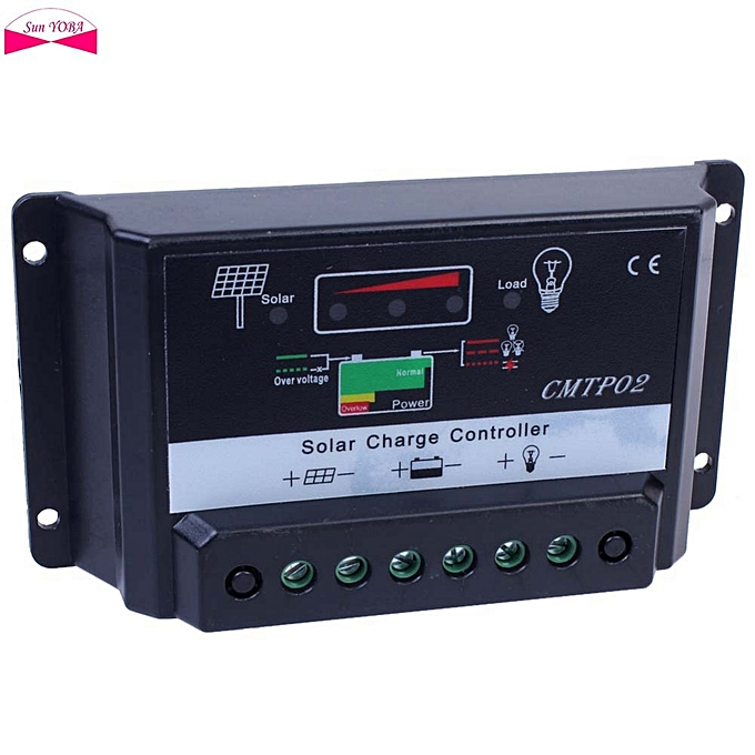 Other 100% Genuine 5A PWM Solar Charge Controller Panel Battery Regulator Charge Controller 12V 24V Auto Switch à prix pas cher