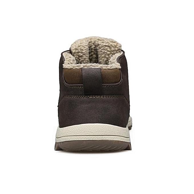 UNIVERSAL  's Winter Snow Boots Outdoor Lining Climbing Sneaker Super Warm Fur Lining Outdoor High Top à prix pas cher  | Jumia Maroc 4b7023