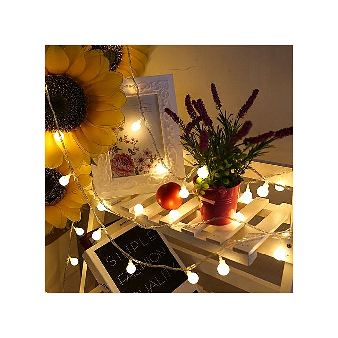 Generic Haojks-Outdoor Fairy Lantern For Party Garden Home Wedding Lighting Decoration E à prix pas cher