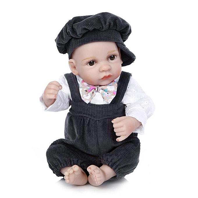 Autre 11 pouces Reborn Baby Doll Handmade Silicone Boy Play House Jouet à prix pas cher