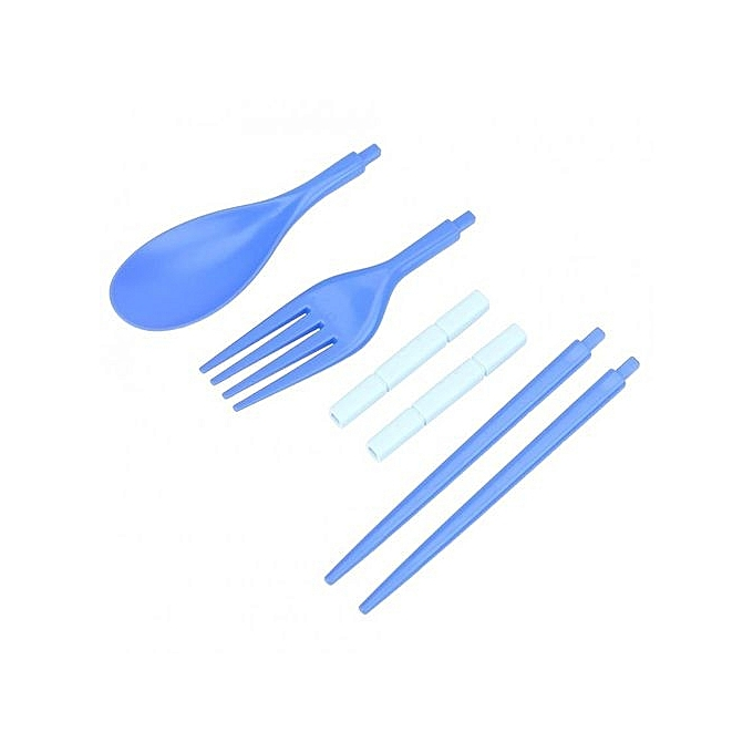 Portable outdoor camping travel picnic tableware fork for Achat ustensiles cuisine