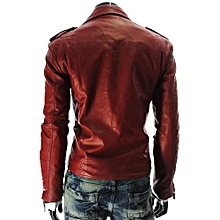 New Styles Arrival Autumn And Winter Motorcycle Leather Jackets Slim Men PU  Leather Jacket Bomber Biker 3ee191f45bb3