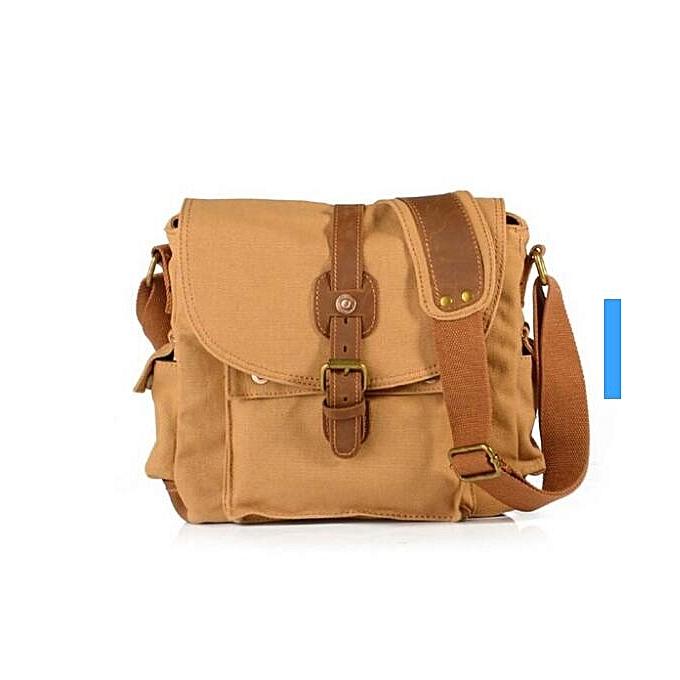 OEM nouveau arrivel mode Hommes's Shoulder sac toile Vintage Messenger sac à prix pas cher