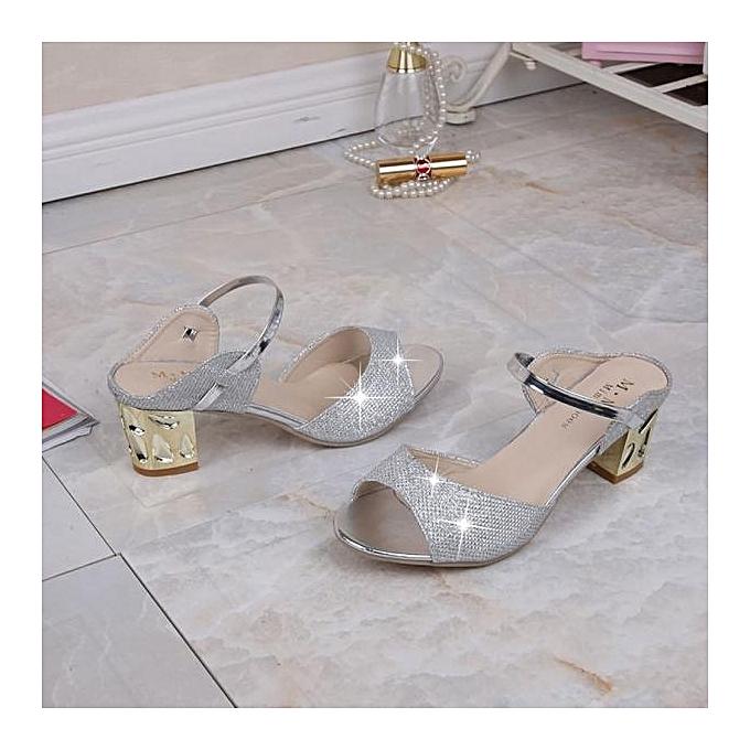 Fashion Blicool Shop femmes Sandals femmes Fashion Summer Flat Flip Flops Sandals Loafers Bohemia chaussures SL -argent à prix pas cher