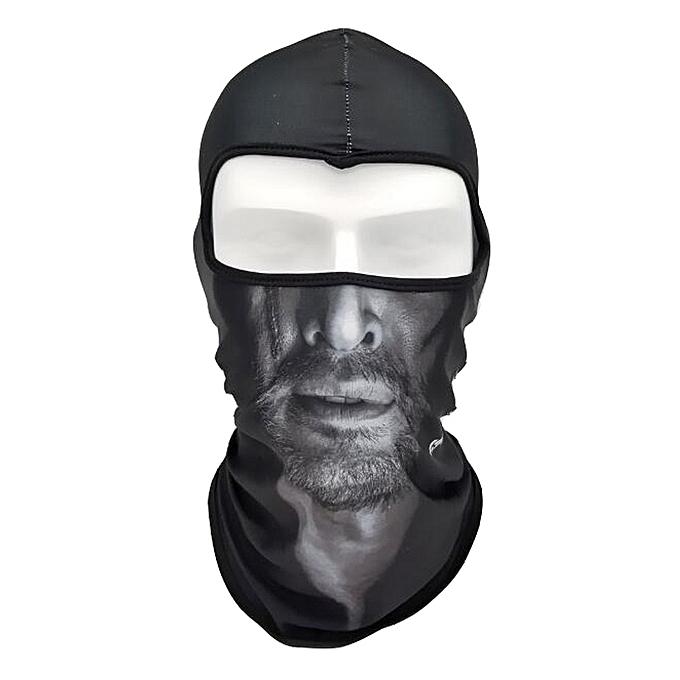 Autre Face Shield Animal Mask Hood Mask anti Wind Sand Breathable Men femmes Outdoor Riding Collar Sleeve Towel Balaclava Car Styling( G) à prix pas cher