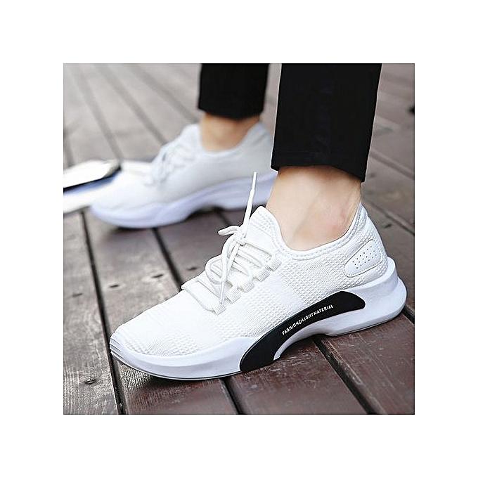 OEM Men's trend casual breathable sports wild low-top chaussures à prix pas cher