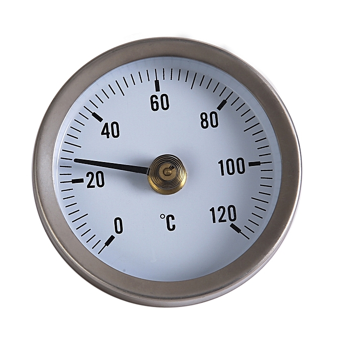 Other PIPE SPRING CLIP-ON THERMOMETER TEMPERATURE GAUGE 63mm 0 120C + Thermal Pas MQSHOP à prix pas cher