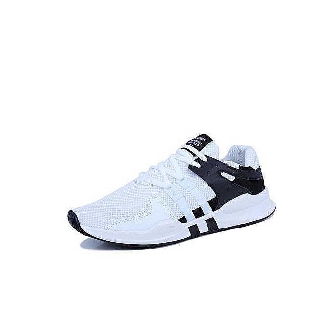 mode Respirant engrener paniers Hommes Chaussures De Sport - Noir Et Blanc à prix pas cher