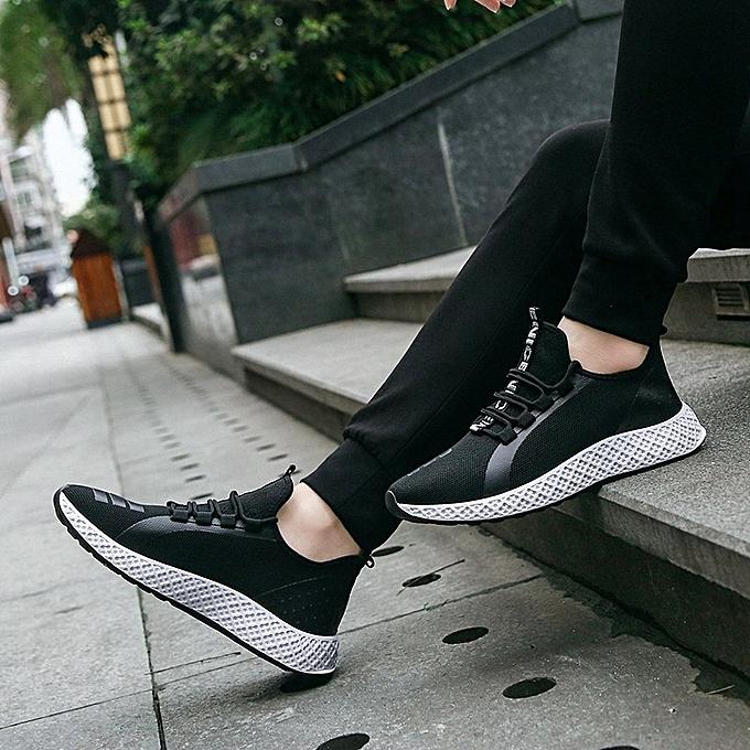 Other Men's Trendy Leisure New Korean Running Superhot chaussures-blanc à prix pas cher