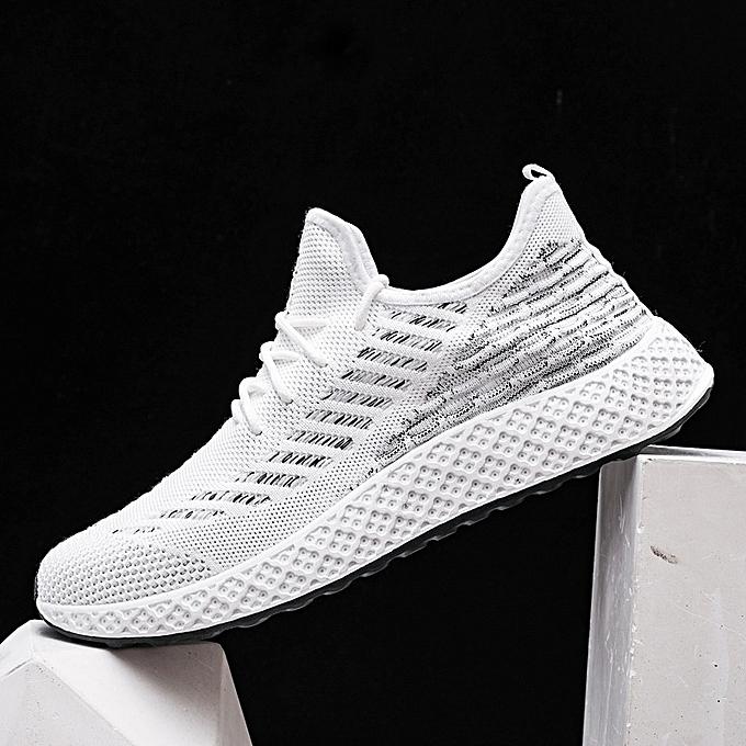 Other Spbague portable Sports engrener chaussures été Leisure en volant tissage chaussures-blanc à prix pas cher
