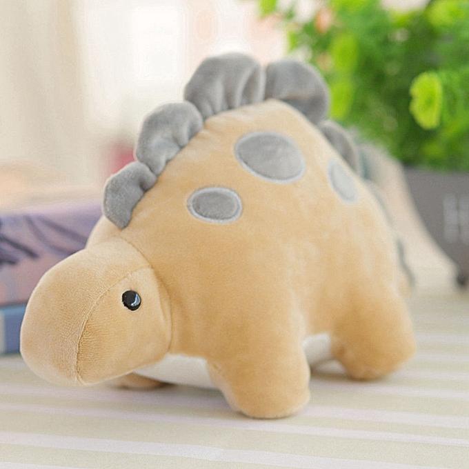 Autre Toy Kids Baby Cute Dinosaur Plush Toy Stuffed Doll Throw Pillow Kid Gift(marron) à prix pas cher