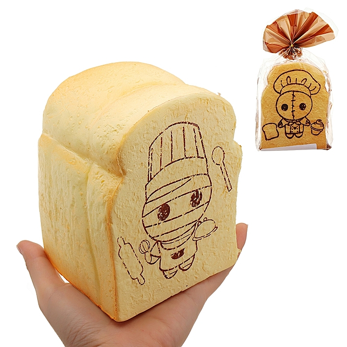 UNIVERSAL Sushi Toast Bread Squishy 14cm SFaible Rising With Packaging Collection Gift Soft Toy-1 à prix pas cher