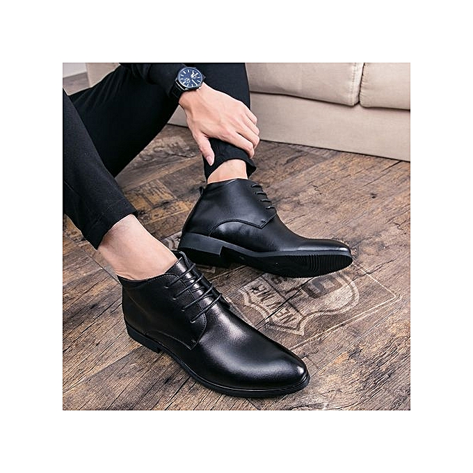 Fashion Oxford Business   Shoes Shoes  Genuine Leather High Quality Soft Leisure Breathable  's Flats-BLACK à prix pas cher  | Jumia Maroc a3f31b