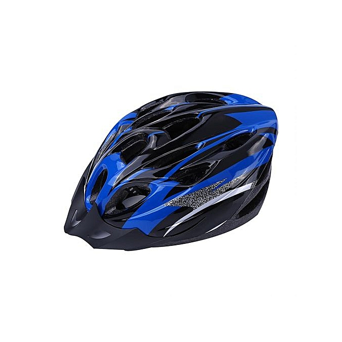 Other 18 Holes Outdoor Mountain Bike Bicycle Cycling Adult Unisex Adjustable Safety Helmet bleu à prix pas cher