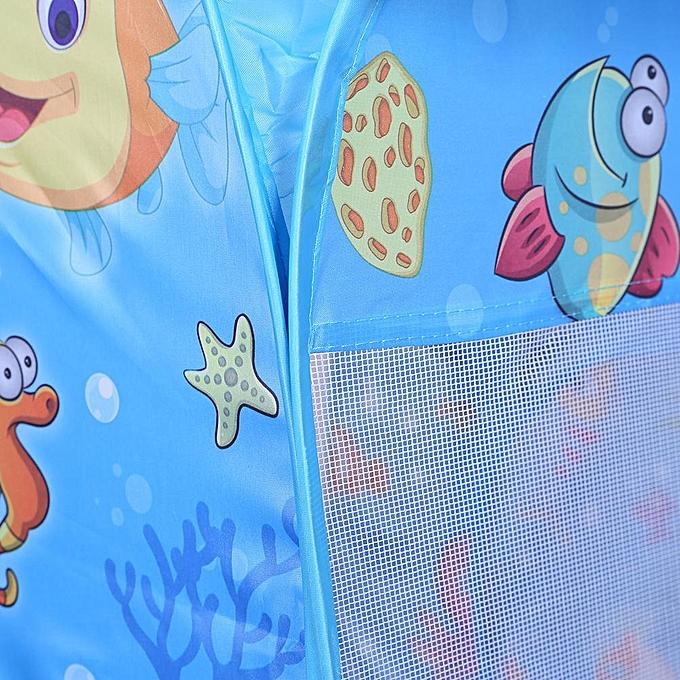 Autre Vetech - Tente de jeu pliée gonflable pour enfants (piscine + piscine) à prix pas cher