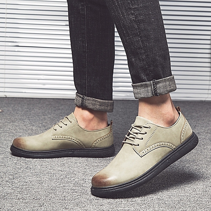 Other Stylish Men Leisure chaussures British PU Bullock chaussures à prix pas cher    Jumia Maroc