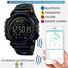 8c158a2d1 SKMEI Men's Sport Smart Watch Fashion Pedometer Remote Camera Calorie  Watches Bluetooth