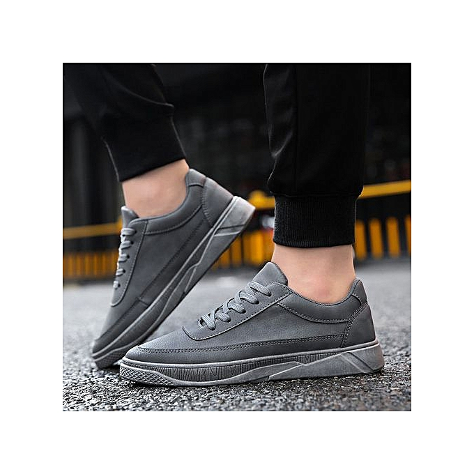mode Xiuxingzi_Hommes's Décontracté voyage chaussures FonctionneHommest chaussures Lace-up Flat With Sport chaussures à prix pas cher