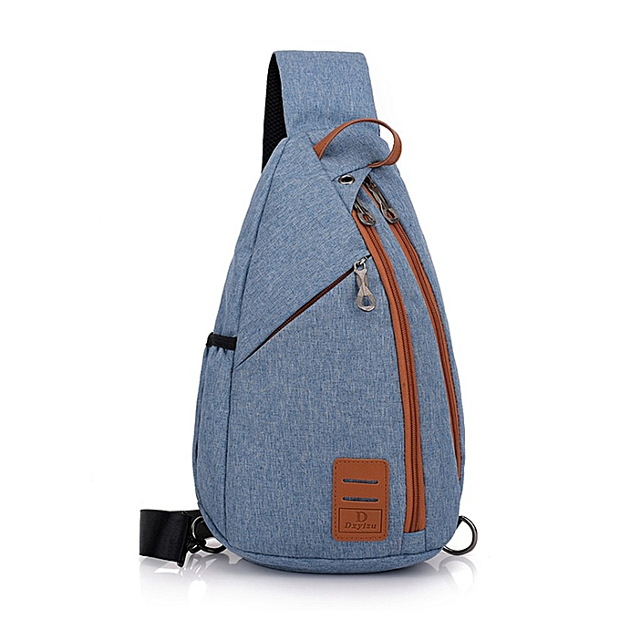 Generic Multifunctional Décontracté Chest sac Hommes's toile petit sac à dos chest sac à prix pas cher