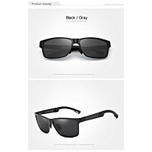 06b010202 الرجال النظارات الشمسية المستقطبة الألومنيوم الشمس المغنيسيوم نظارات  القيادة نظارات مستطيل ظلال للرجال الرجال ذكر