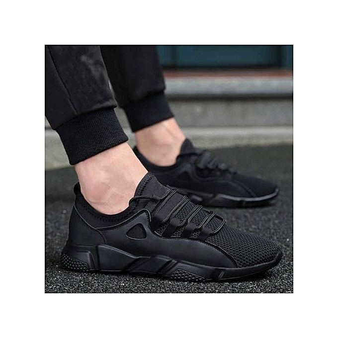 Yingwoo Running Shoes  Style  New Style  Breathable Sneakers   Light Sport Outdoor Shoes- Black à prix pas cher    Black Friday 2018   Jumia Maroc fa0923