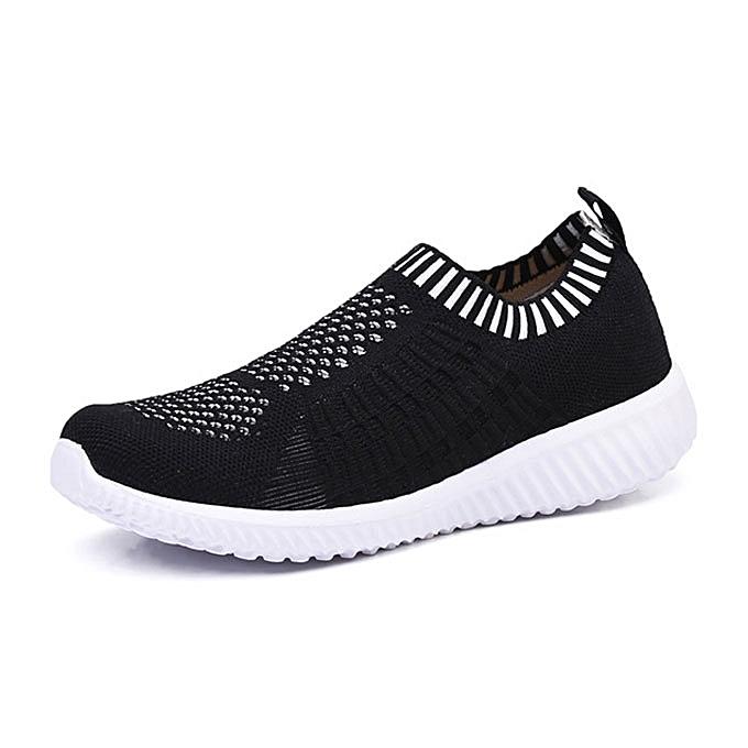 Fashion femmes Casual Soft Mesh Sport Running chaussures Outdoor Flats à prix pas cher    Jumia Maroc