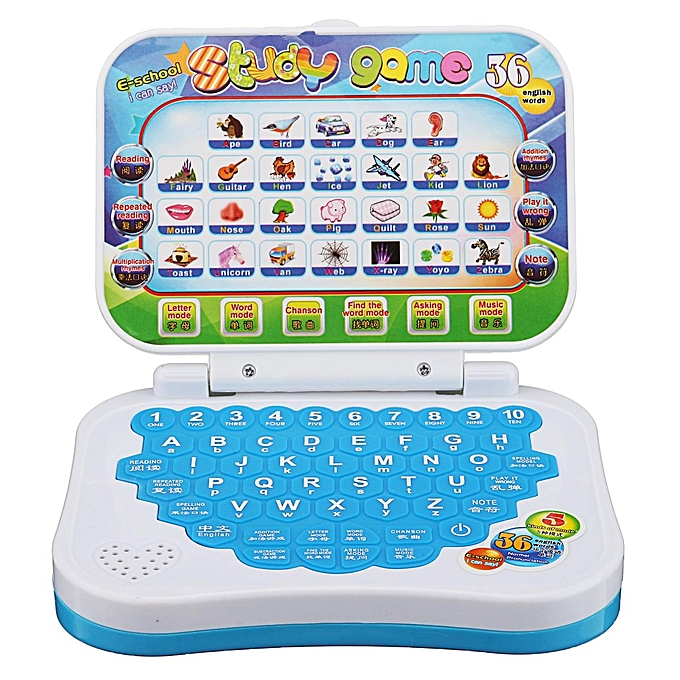 UNIVERSAL   Enfant Toddler Educational Learning Study Toy Laptop Computer Game à prix pas cher