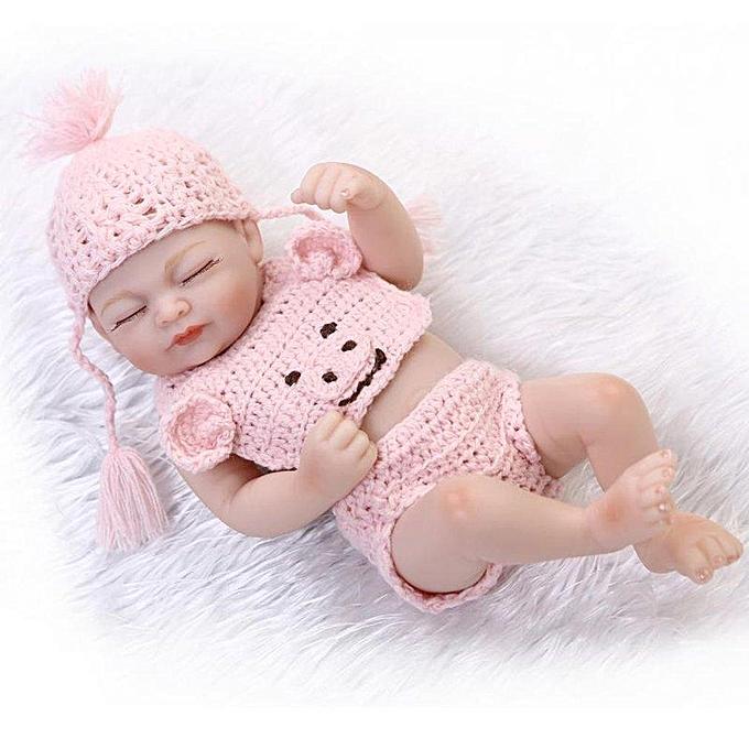 Autre UR Simulation Bébé Reborn Poupée Plein Silicone Dormir Nouveau-Né Poupée Enfants Jouet à prix pas cher