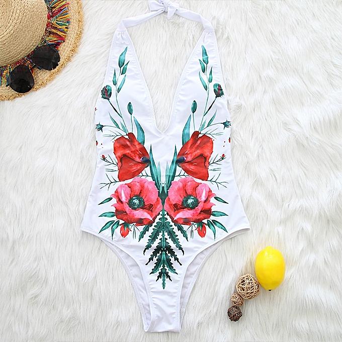 Autre bodysuit V-neck bikinis femmes swimwear femmes Push up striped swimsuit wohomme Bondage one piece bathing suit(1085-2) à prix pas cher