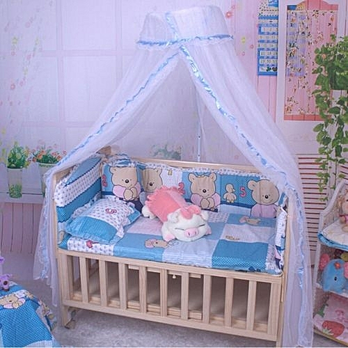 UNIVERSAL Summer Baby Infant Mosquito Net Toddler Bed Crib ...