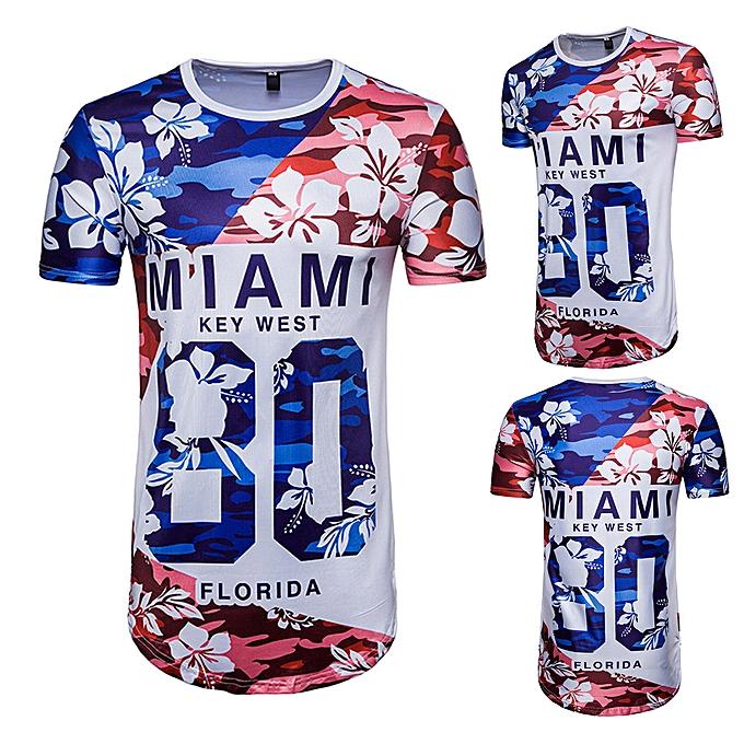 mode (Xiuxingzi) Hommes& 039;s été Football 3D Print Letter manche courte T-shirt Top chemisier à prix pas cher