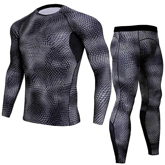 mode Man Workout Fitness Sports FonctionneHommest Yoga Athletic Shirt Top Pants Sets à prix pas cher