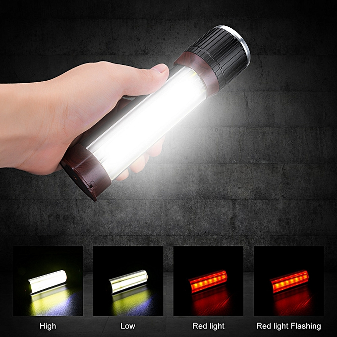 Electronic New T6 COB Flashlight Zoomable LED Torch USB Rechargeable Light Lamp à prix pas cher