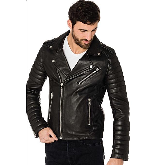 7a5f78f66baa Générique jacket de cuir pour homme. à prix pas cher   Jumia Maroc
