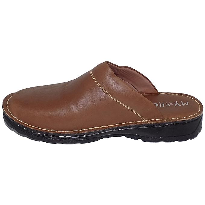 MY SHOES Sabot Médicale Tabac 100% cuir , , , My Shoes à prix pas cher  | Jumia Maroc 275cb6