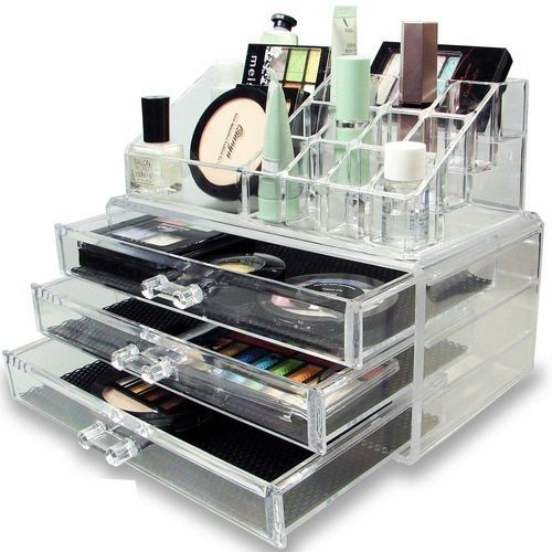 As seen on tv organisateur acrylique de maquillage et - Organisateur de maquillage ...