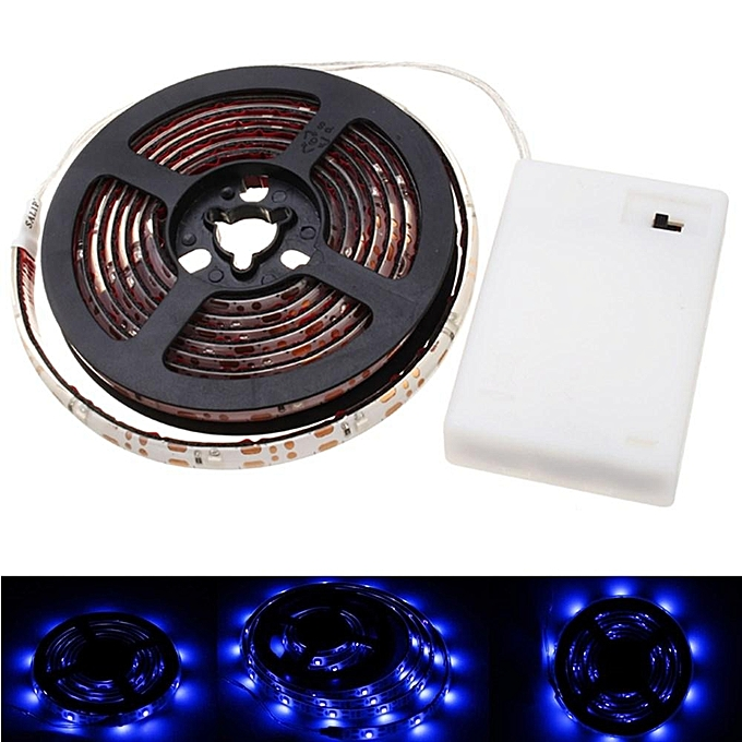 UNIVERSAL LUSTREON Battery Powerouge 2M 60Leds SMD3528 UV 395-405nm Waterproof Light Strip à prix pas cher