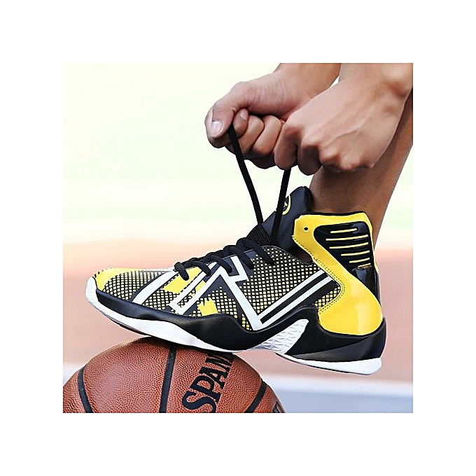 Other Men's Shockproof Luminous Basketball chaussures High Top Sports chaussures-jaune à prix pas cher    Jumia Maroc