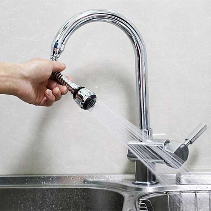 Other Stainless Steel 360 rougeary Water Saving Faucet Hose Aerator Diffuser Filter Aerator Nozzle Kitchen Appliances ASQOO à prix pas cher