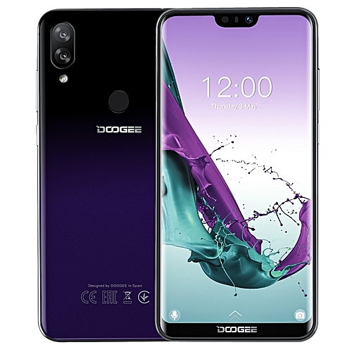N10, 3GB+32GB, 5 84 Inch Notch Screen Android 8 1 Oreo 4G Smartphone -  Purple