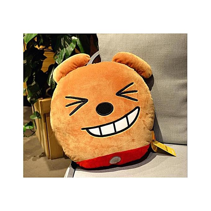 Autre 40cm Ryan Stuffed Plush Toys V GIRL Same Style Cushions Ryan PilFaible Emoji Doll(Orange) à prix pas cher