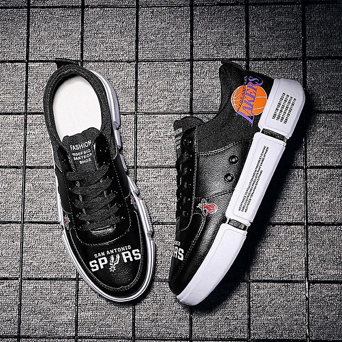 Fashion Fashion blanc chaussures low to help hommes chaussures casual sports chaussures-2 noir à prix pas cher    Jumia Maroc