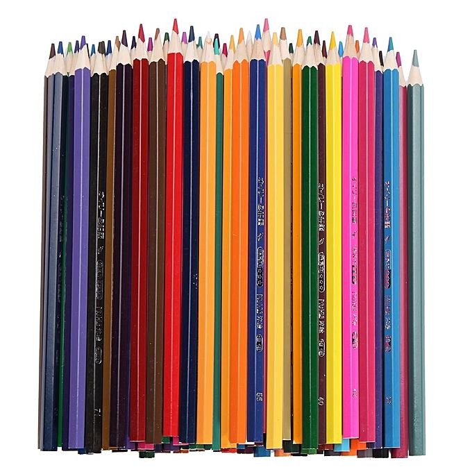 UNIVERSAL 72Couleurs Oily Drawing Pencils Set For Artist Sketch Non-toxic Painting Pencil à prix pas cher