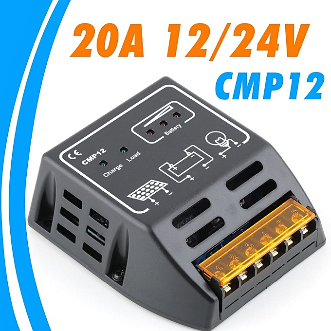 Other 20A solar Charge Controller 12V 24V solar regulator for 480W 240W solar panel battery charge controller à prix pas cher