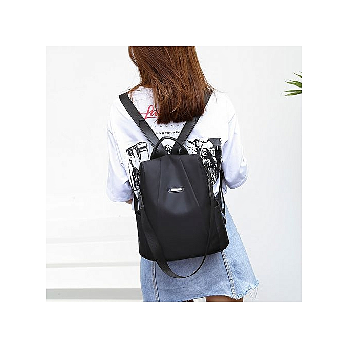 Fashion Tectores femmes Travel backpack travel bag anti-theft Oxford cloth backpack à prix pas cher