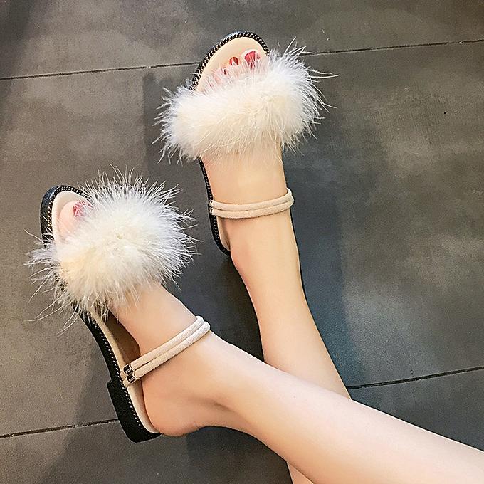 Fashion jiahsyc store Summer Casual chaussures Wohommes Sandals Flat Female Sandals Female chaussures à prix pas cher