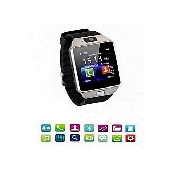 commandez g n rique dz09 smart watch montre connect e bluetooth ecran tactil cam ra carte sim. Black Bedroom Furniture Sets. Home Design Ideas