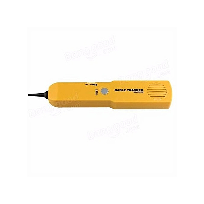 UNIVERSAL Telephone RJ11 Wire Tracker Ethernet LAN Network Line Cable Tester Probe Tracer jaune à prix pas cher